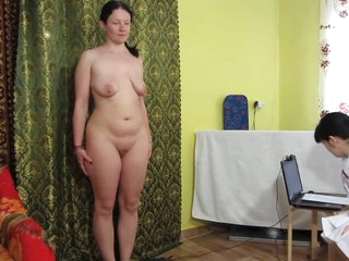 Russian girls play a medical examination