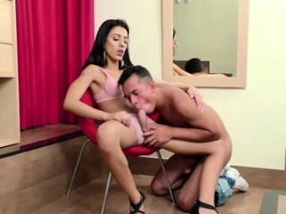 Dream Tranny - Guys Sucking Shecocks Compilation Part 7