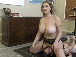 Horny Teacher Eva Notty Enjoys Face Sitting